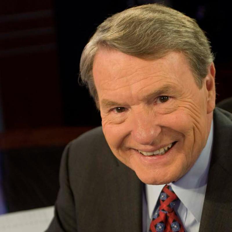 1991Jim Lehrer, PBS News anchor