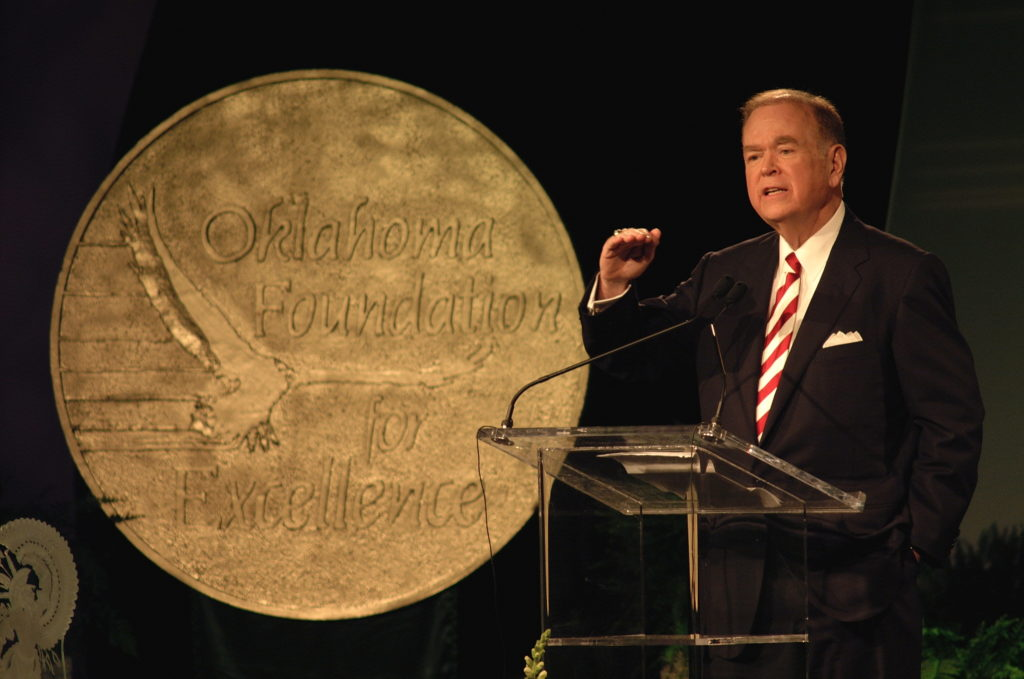 2006	David L. Boren, founder and chairman, Oklahoma Foundation for Excellence