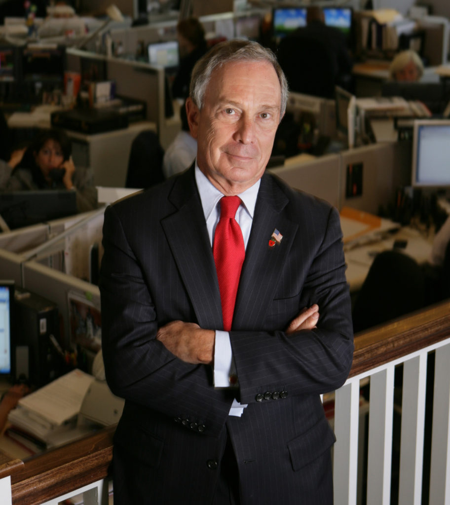 2011	Michael Bloomberg, business leader and New York City mayor