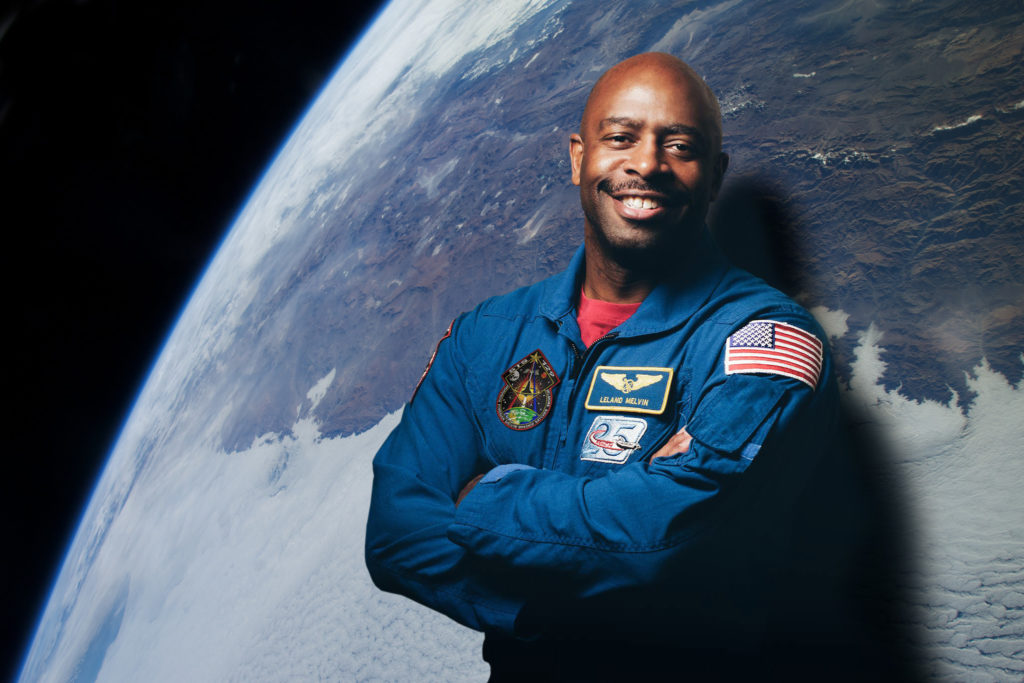2019 	Leland Melvin, author and former astronaut