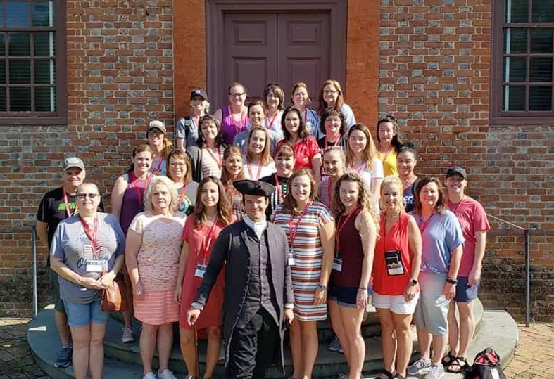 Oklahoma Educators Immersed in History at Colonial Williamsburg Teacher Institute